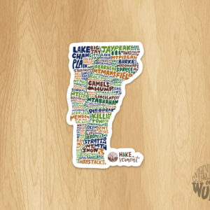 Hike Vermont Sticker