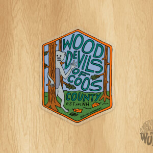 Wood Devils Sticker