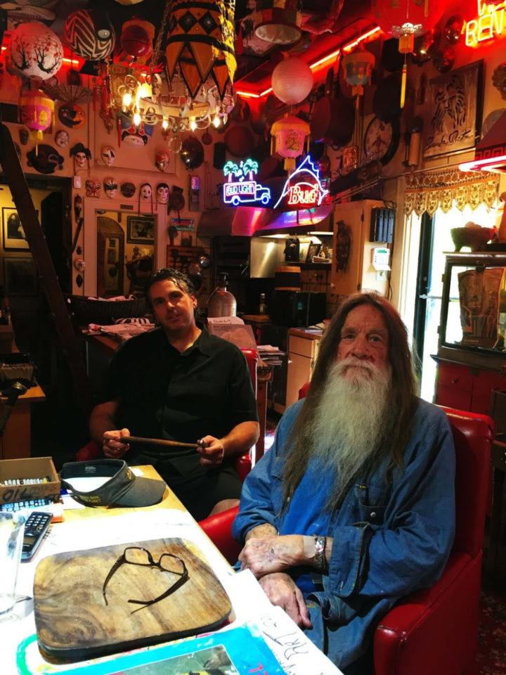 Greg Hunsinger and Evander Preston at Evander Preston Gallery