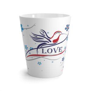 Humming Bird Love Latte Mug
