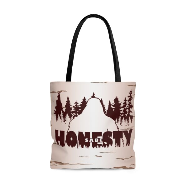 Sabe - Bigfoot Honesty - AOP Tote Bag