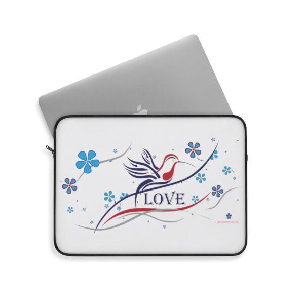 Hummingbird Love - Laptop Sleeve