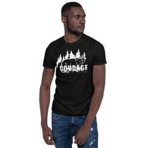 Makwa Courage - Men's Short-Sleeve Unisex T-Shirt