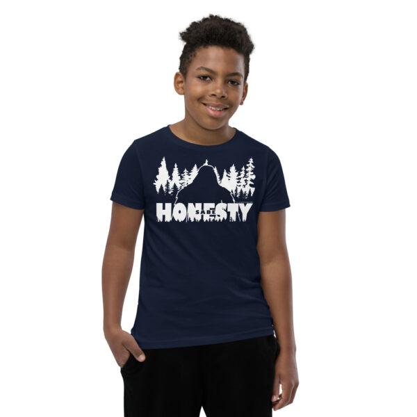Sabe Bigfoot Honesty - Youth Short Sleeve T-Shirt