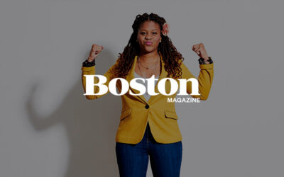 Sheena Collier Is Creating a Guide for Living in Boston While Black. When it comes to Boston's economic future, the Greater Boston Chamber of Commerce's Sheena Collier is betting on black.