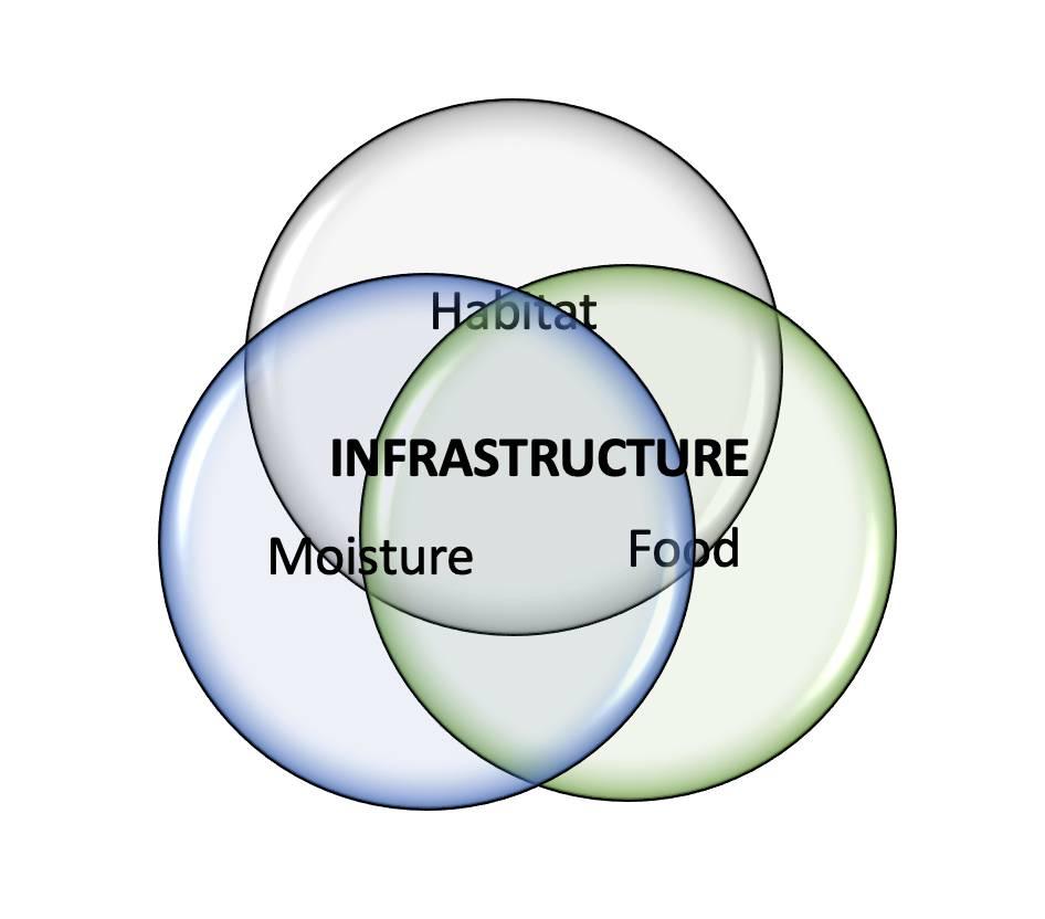 Infrastructure Habitat Model