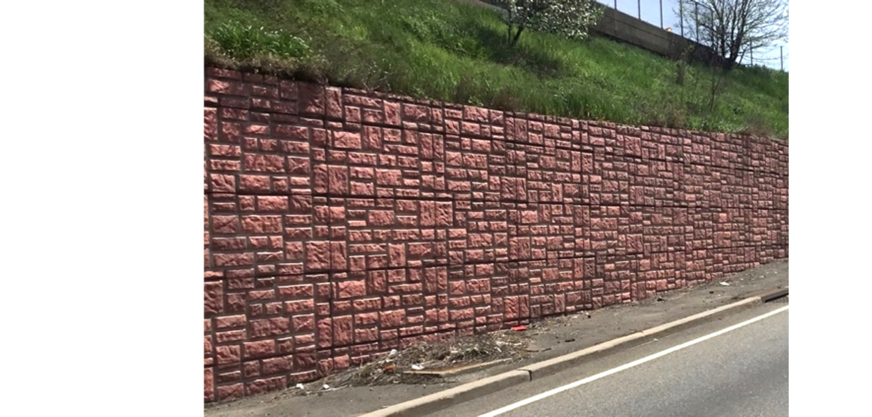 treated wall