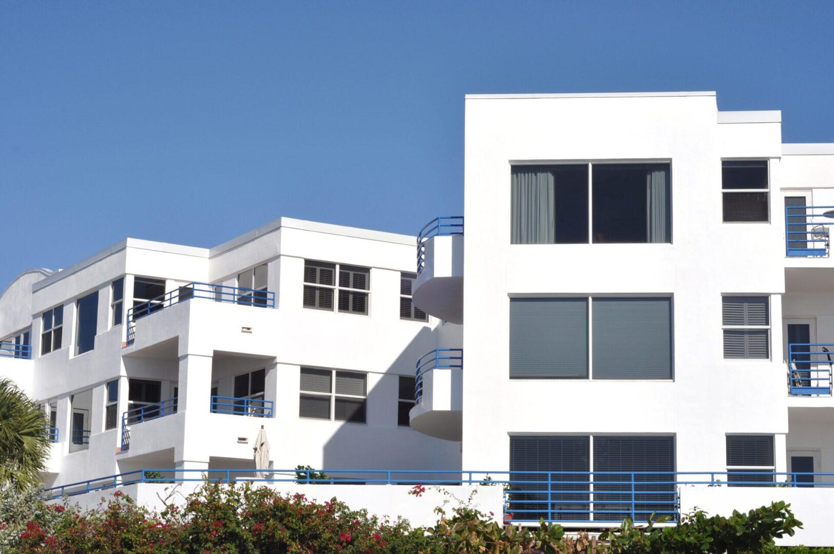 Tropical,Condominium,Complex
