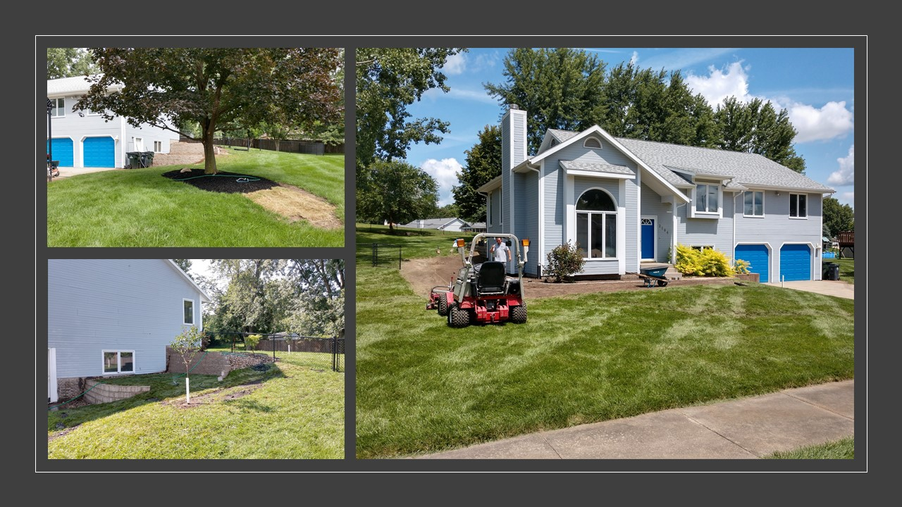 Landscaping & Retaining Wall