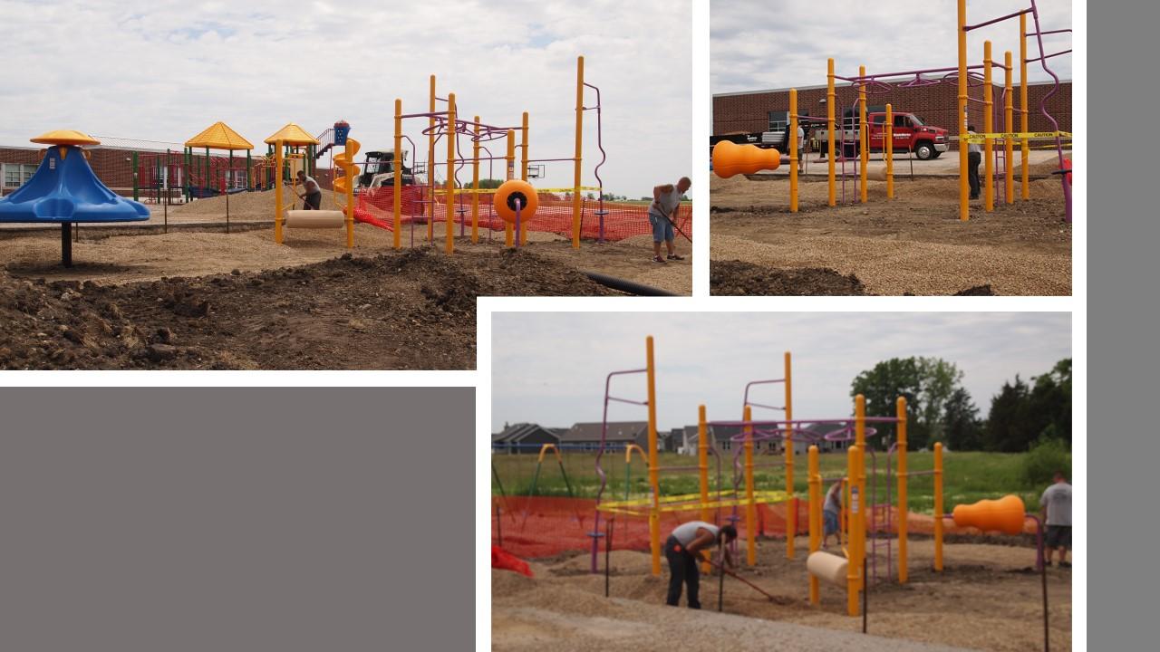 Mulching School Playground