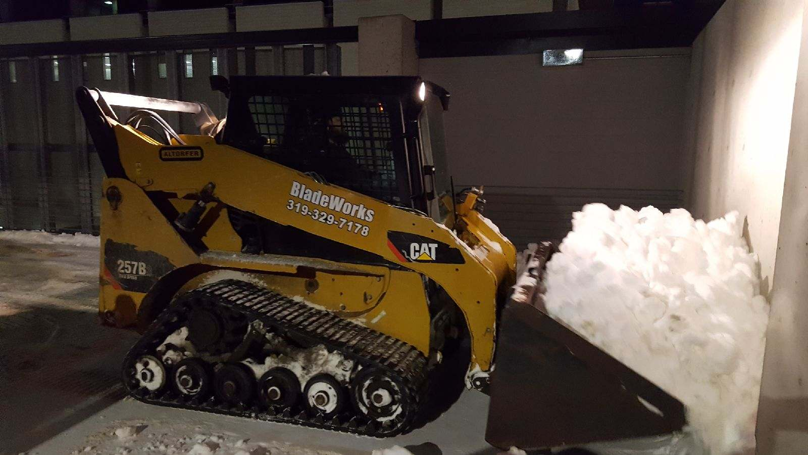 Clearing Parking Lots & Parkades
