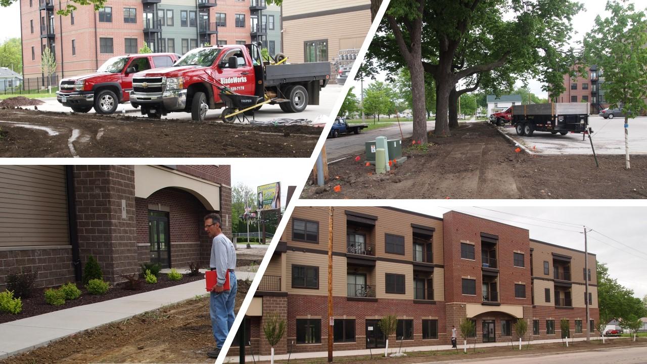 Landscaping Apartment Complex