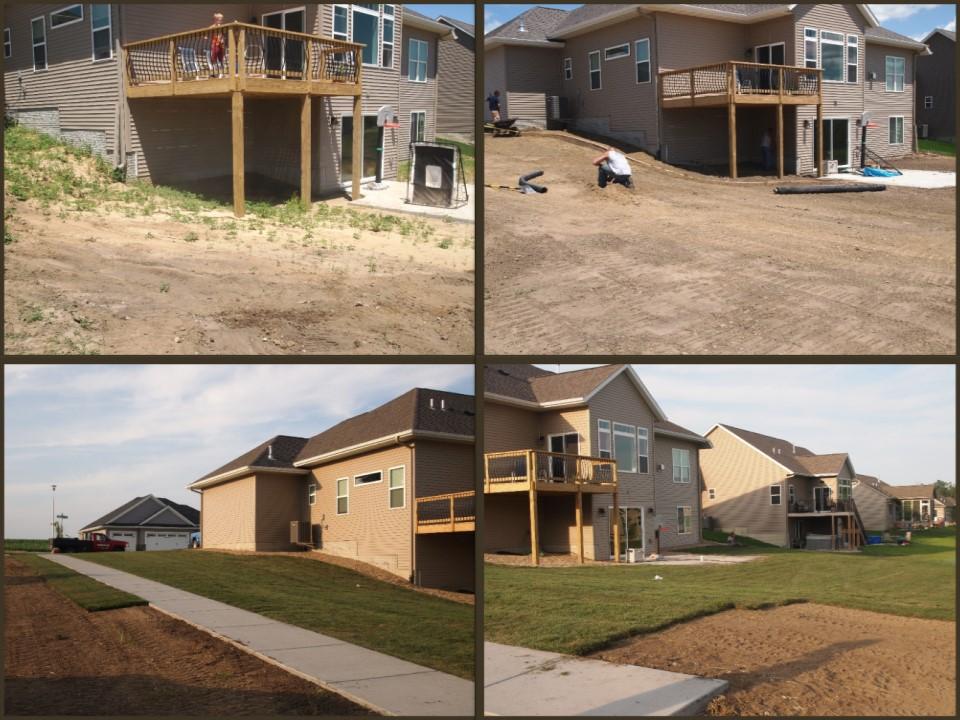 Sodding New Construction