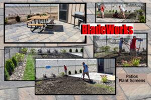 BladeWorks Landscaping Patios, Plant Screens