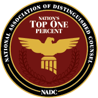 Our attorneys were selected as part of the NADC Top One Percent