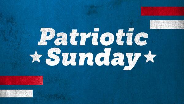Patriotic Sunday Image