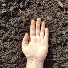 Triple Ground Mulch Hand