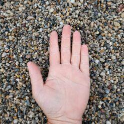 Pea Gravel Hand 2