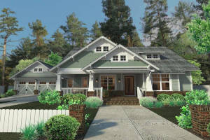 Bungalow House Plan 9401