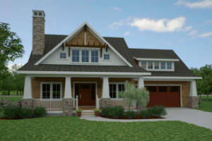 Cottage House Plan 7086