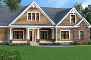 Craftsman House Plan 009