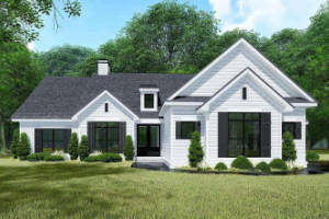 Farmhouse House Plan 8318