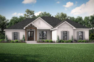 Modern Farmhouse House Plan 042