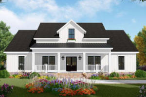 Modern Farmhouse House Plan 348