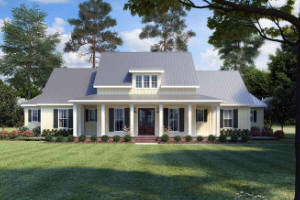 Modern Farmhouse House Plan 4534