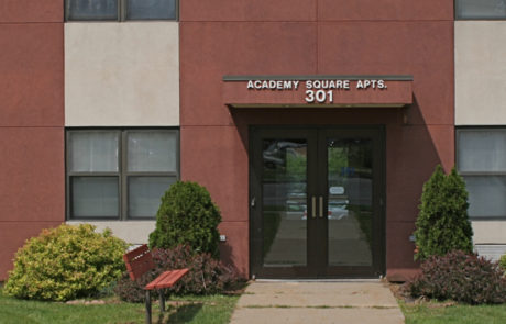 Academy Square Apartments - Entrance
