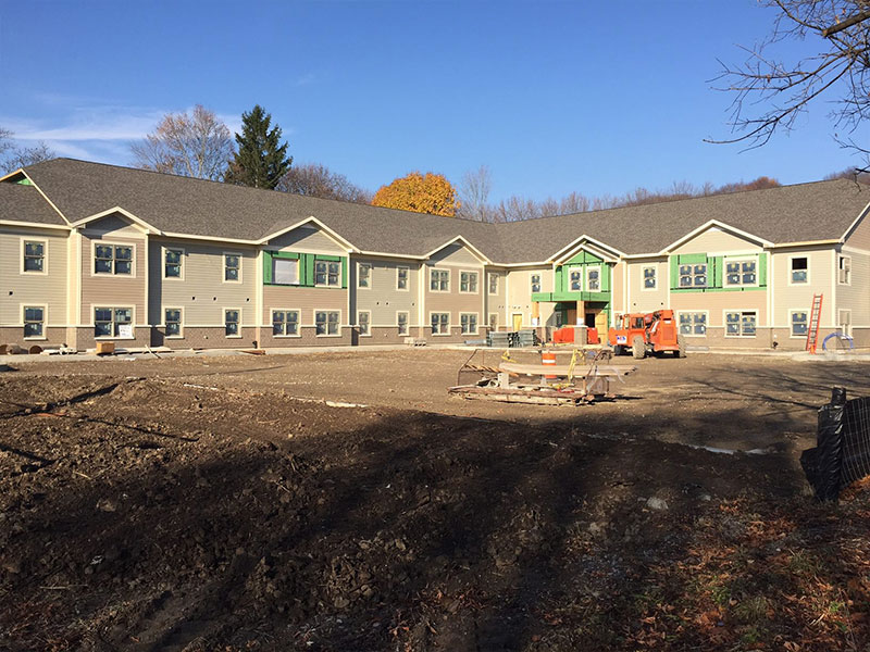 Christopher Community Development under construction