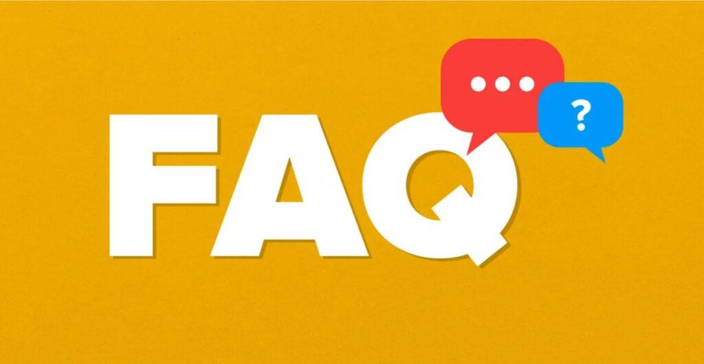 f a q graphic