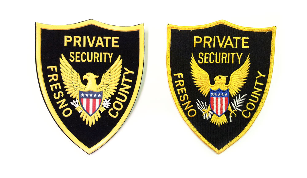 Fresno County Private Security Patch