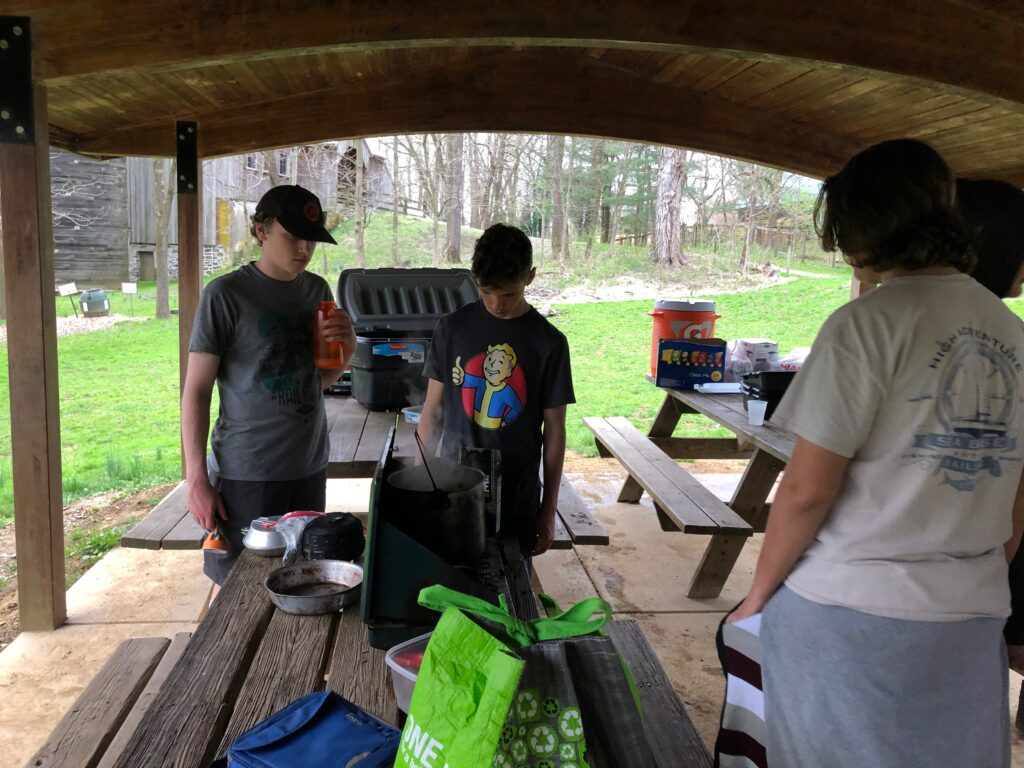 More Scouts Cooking 2019
