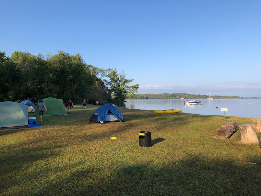 Kentmore 2019 Camp Site