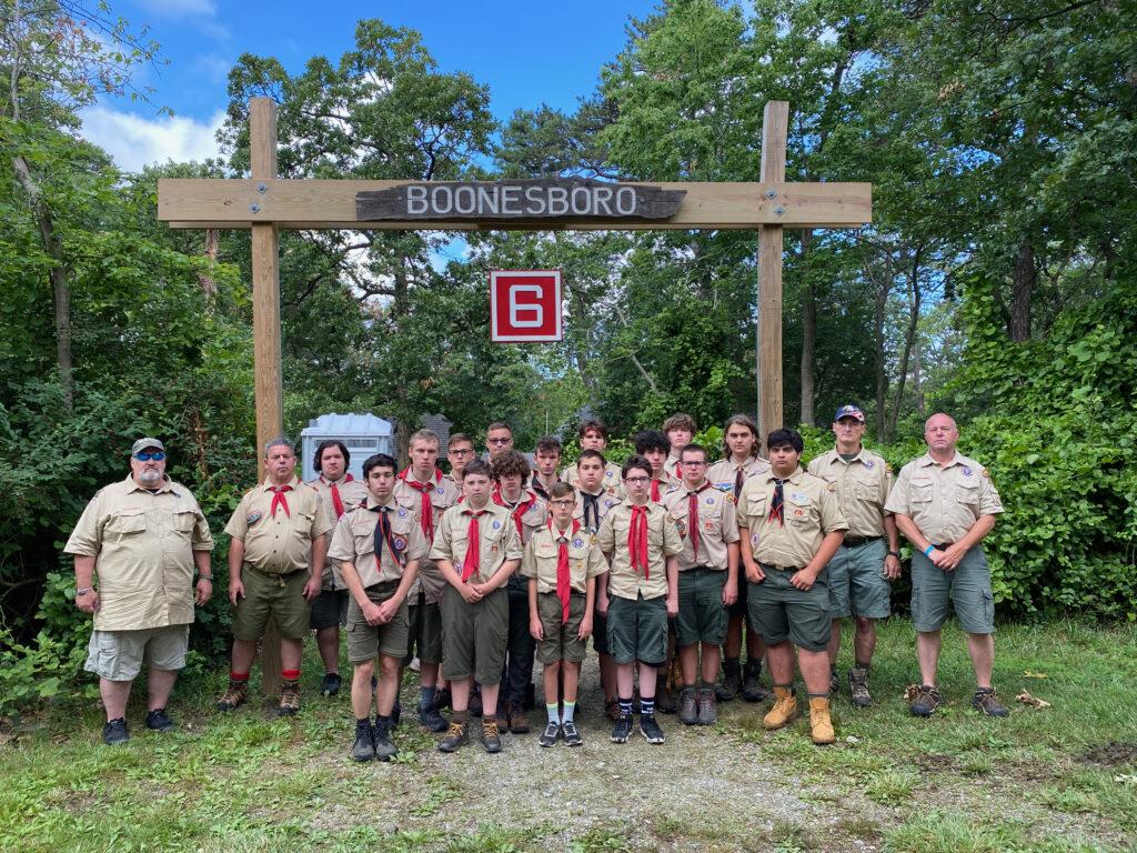 Troop 6 Camp Horseshoe 2021