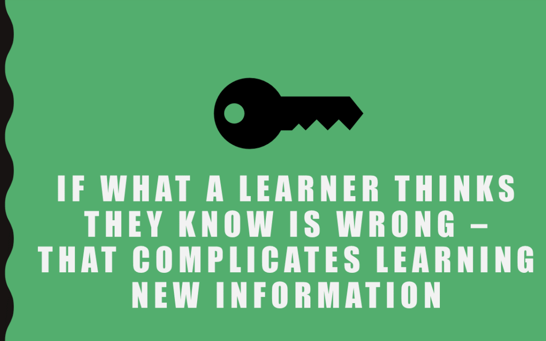 Background Knowledge Can Support Learning