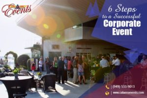 6 Steps to a Successful Corporate Event