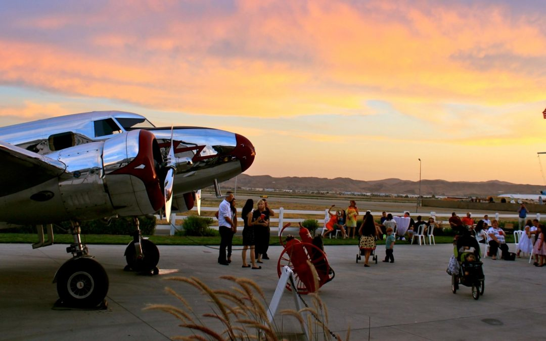 Let Your Holiday Party Take Off In A Retro Aircraft Hangar