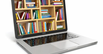 laptop library