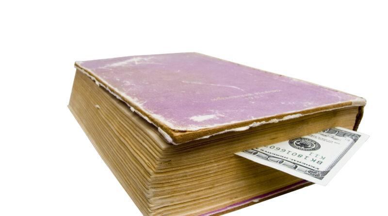 Cash in book