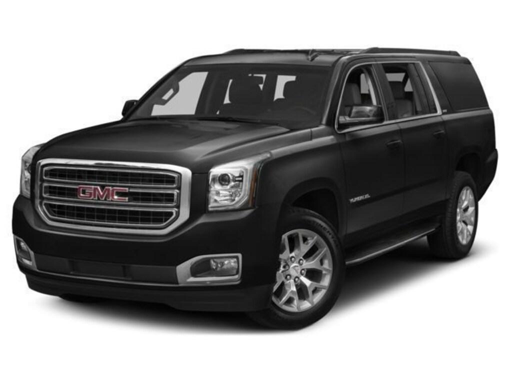 Black SUV GMC Yukon