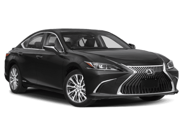 Black Sedan Lexus