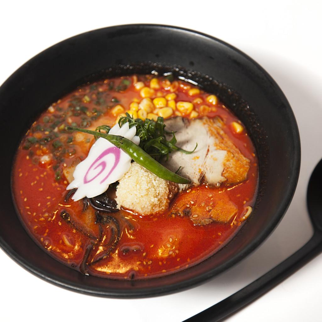 Spicy Garlic Miso Ramen