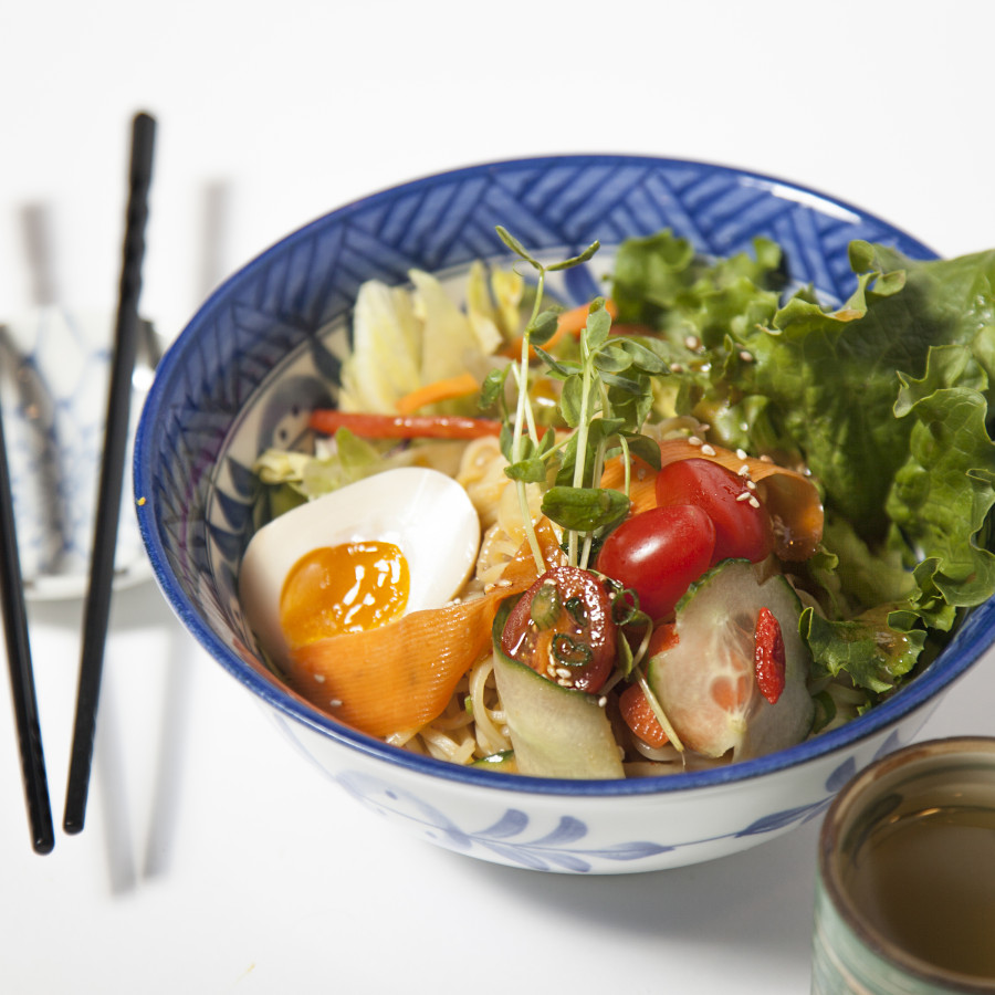 Cool Down With Cold Ramen Salad!