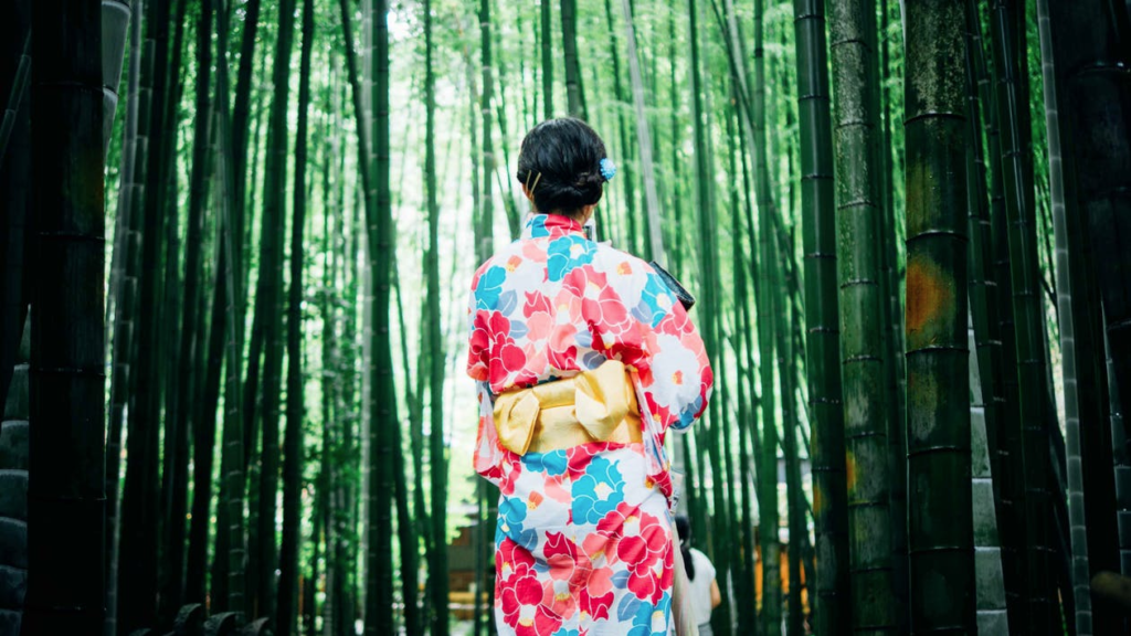Mothers Day Silk Komono Japan Nomiya