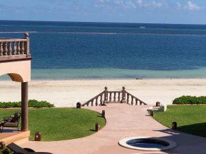 View of beach from Las Casitas