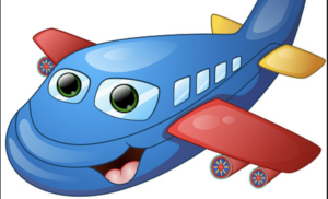 Airplane Cartoon Picture