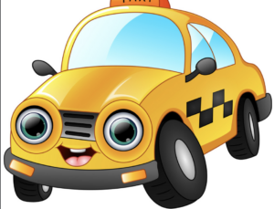 Taxi Cartoon Picture
