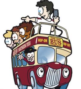 Tourbus Cartoon Picture